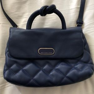 Marc Jacobs Cross Body Blue GUC leather